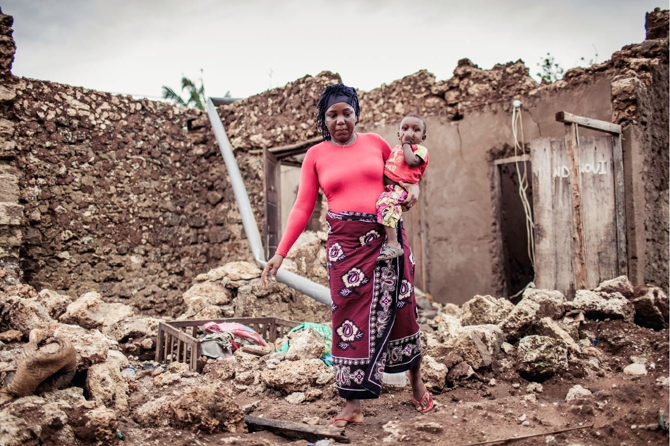 Devastation caused by Cyclone Idai