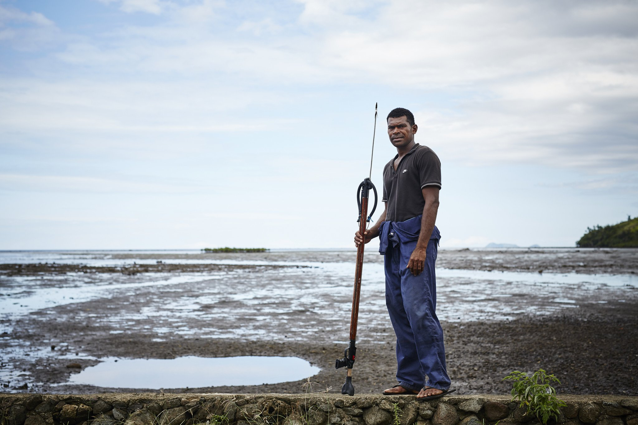 People living in Fiji are affected by climate change