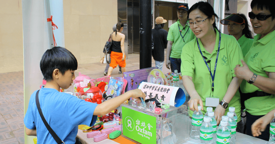 Organise a fundraising event for Oxfam Hong Kong