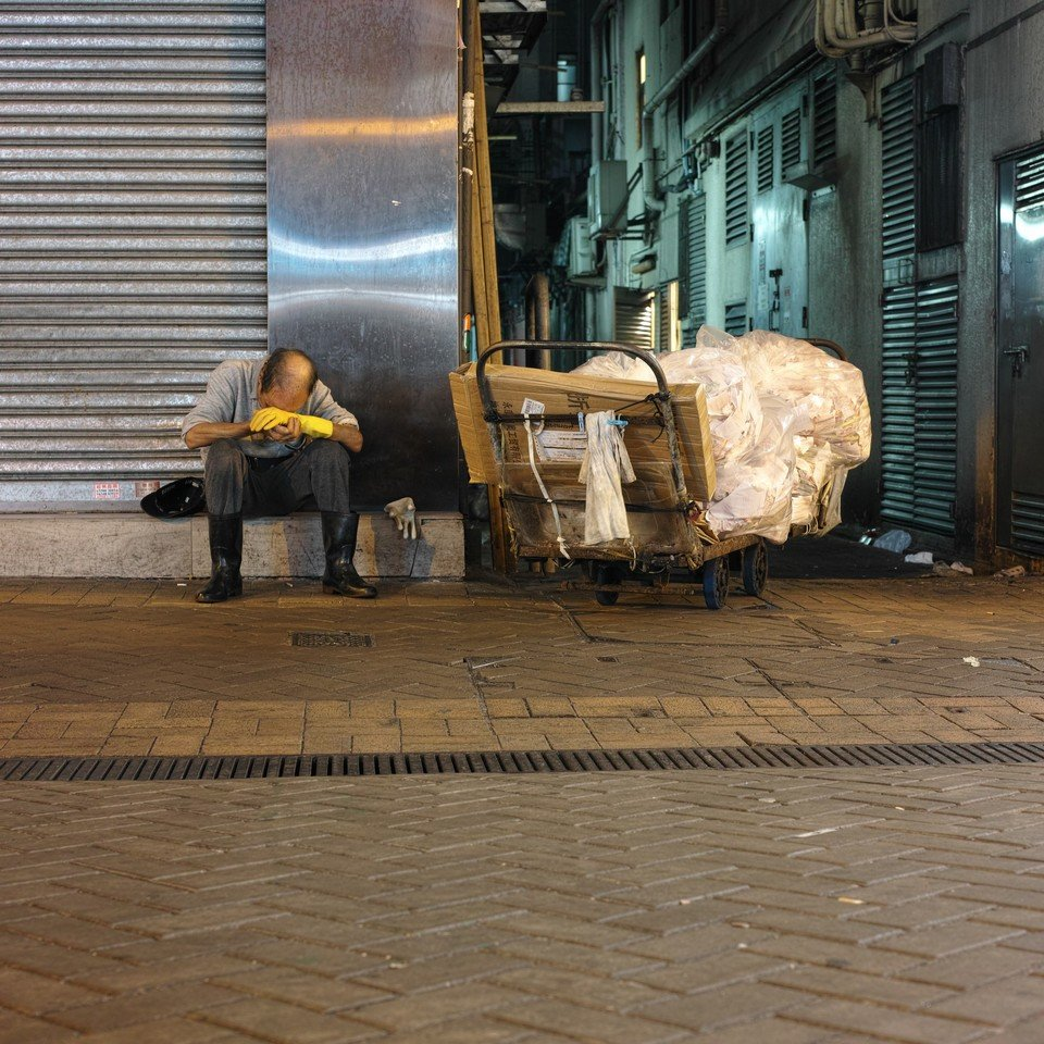 Image of Oxfam's Poverty Alleviation Work in Hong Kong