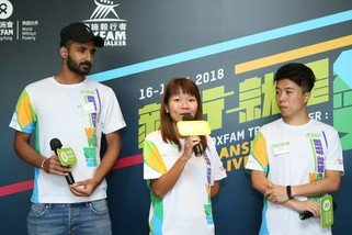 Three models from this year's OTW poster shared their stories of transformation (left to right): Hardeep Singh, who joined OTW last year for the first time when he turned 18; Leung Ying Suet, first runner-up who broke the Mixed Team Champion record and Rap Chan, a two-time OTW participant and the creator of Dustykid.