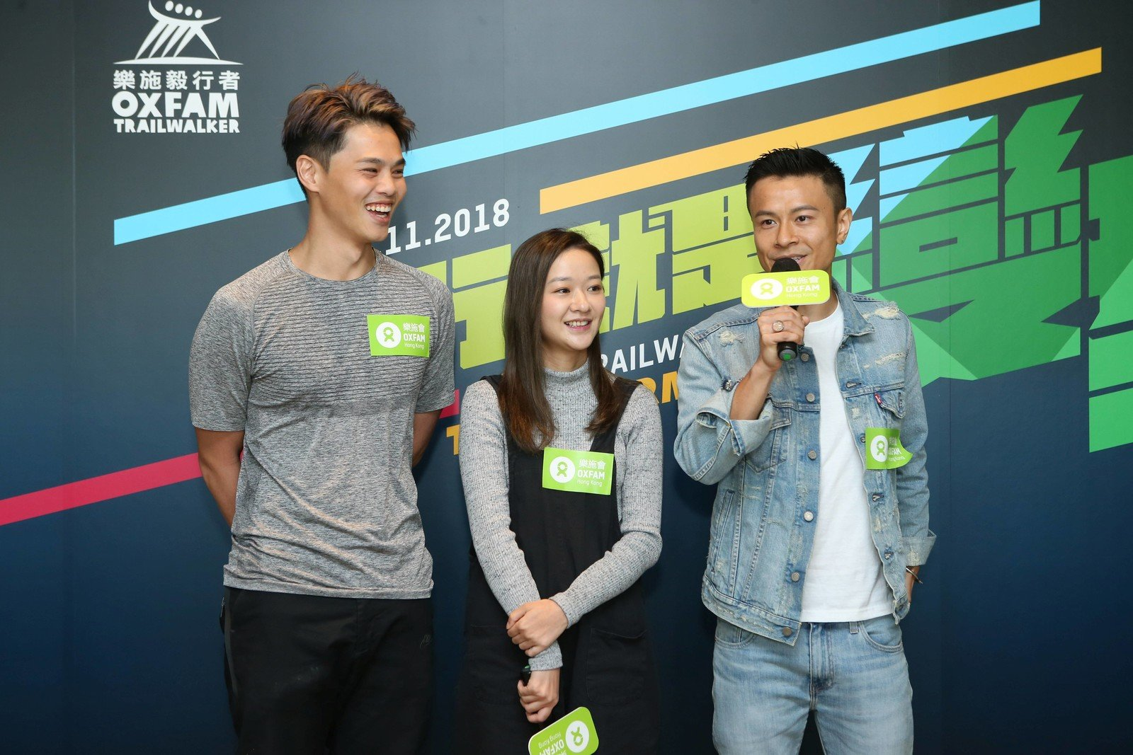 Three members from the all-star team Chord Walker (left to right) – Dixon Wong, ViuTV artiste; Regen Cheung, HotCha member, and On Chan, C AllStar member talked about how the OTW has transformed them.