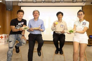NGOs call for greater public support in Hong Kong for East Africa Food Crisis responseJohn Tsang, Alex Fong, Onyee Ng and Chong Chan Yau Experience 'A Meal for Meals'