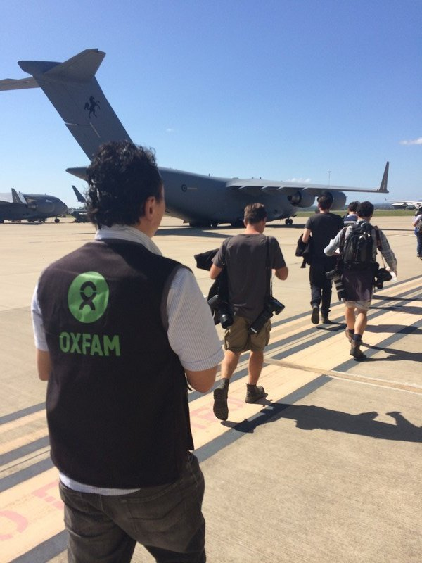 Oxfam already has a team on the ground and more humanitarian emergency responders are flying to Vanuatu. (Angus Hohenboken/OxfamAUS)