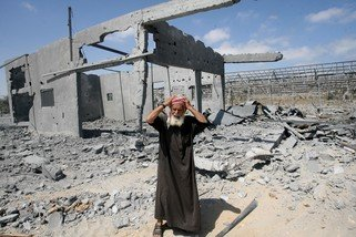 People in Gaza trapped with nowhere safe to go