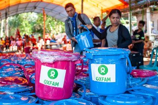 Oxfam's Immediate Response