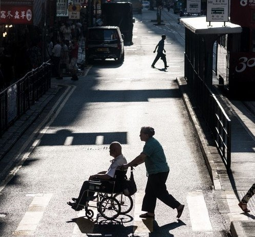 Image of Poverty Among the Elderly