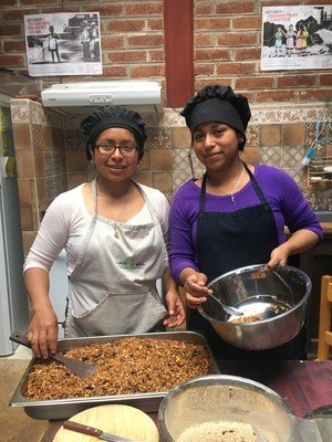 Every Wednesday At'el Antsetik's staffgather together to produce handmade granola tofundraise and provide affordable nutritious food to the villagers around them.